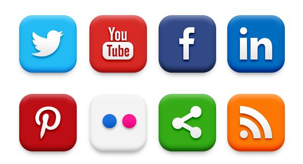 Sosyal Medya Pazarlama, Sosyal Medya Butonları
