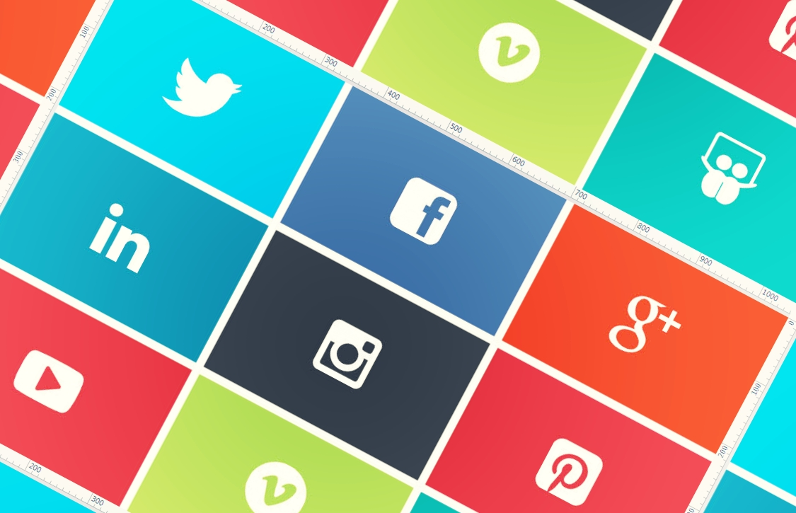 Sosyal Medya Reklam Pazarlama, Sosyal Medya Butonları
