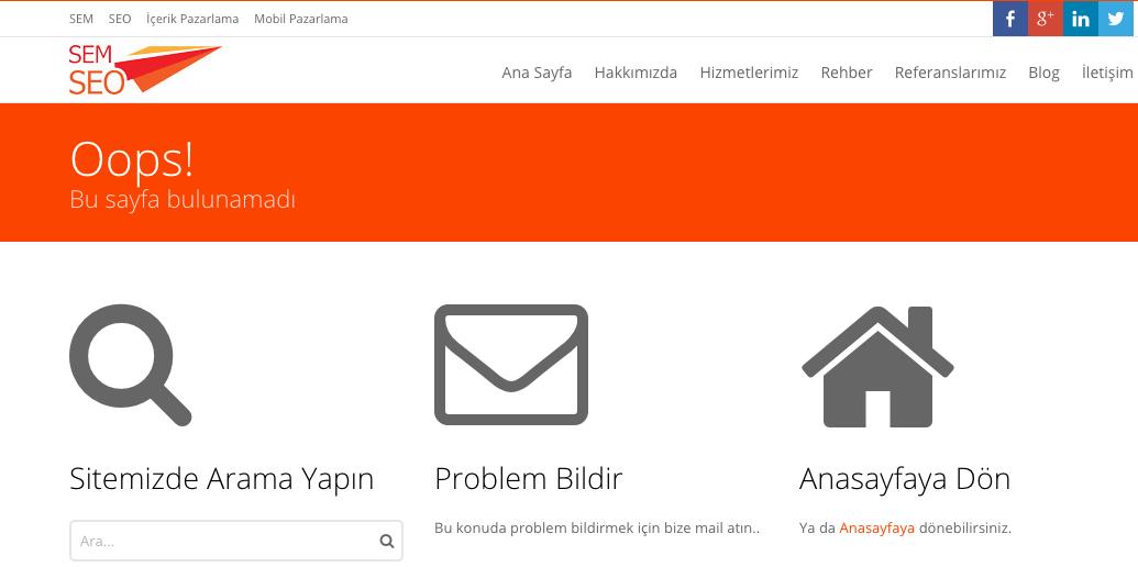 semseo-http-404-hatası