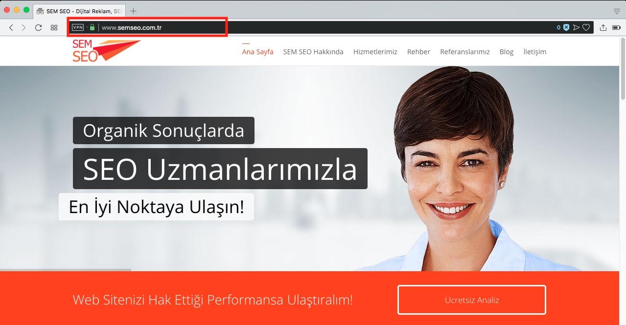 SEO tavsiyeleri - www'li bir domain