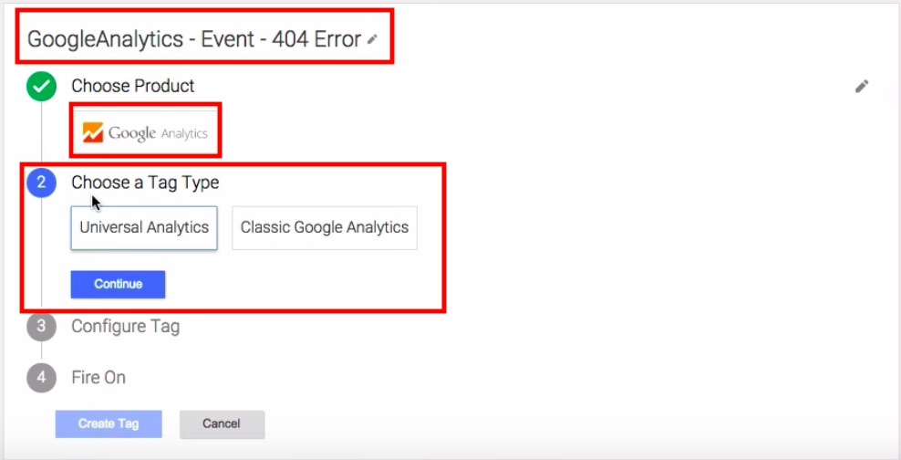 404 Sayfalarına Google Tag Manager Tag'i Eklemek