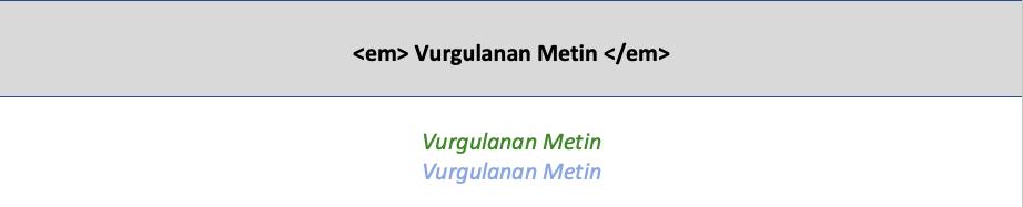 HTML5 em etiketi