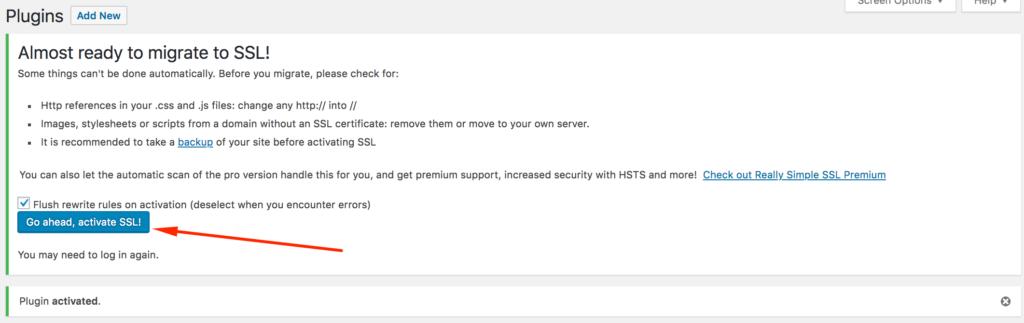 Wordpress HTTP HTTPS Geçişi - Really Simple SSL Plugin