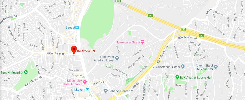 Google My Business harita işaretlemesi