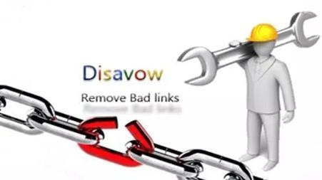 disavow links aracı