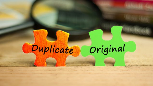 Duplicate İçerik